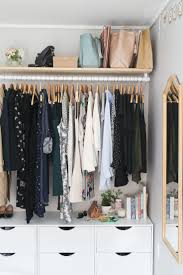 Wardrobe Cabinet With Shelves Best 25 Open Wardrobe Ideas On Pinterest Open Closets Walk In