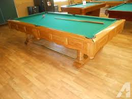 brunswick 3 piece slate pool table 9 foot slate pool table by brunswick free delivery within 75 miles