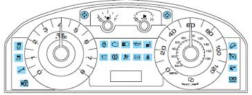 subaru warning light symbols ford escape warning lights and chimes instrument cluster ford