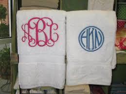 wedding gift towels 25 best monogram towels ideas on monogrammed