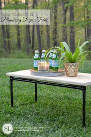 diy outdoor coffee table plumbing pipe table plans diy outdoor coffee table bystephanielynn
