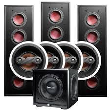 home theater wall speakers b23 7 1 csub