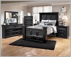 ashley bedroom set black home design