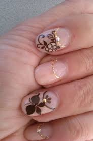 317 best flower nails images on pinterest floral nail art