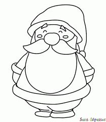 Coloriage Petit Père Noël  Sans Dépasser