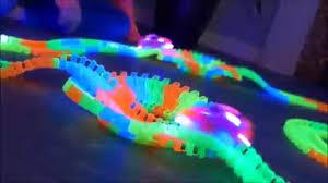 as seen on tv light up track as seen on tv magic tracks glowing racetrack walmart com
