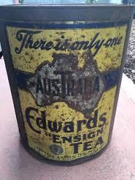 tea tins Antiques Art & Collectables