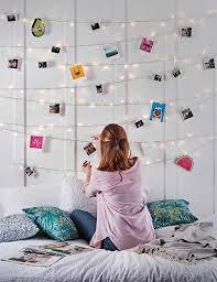 Schlafzimmer Deko Lichterkette Diy Lichterketten Wand Diy Tutorials Inspirationen
