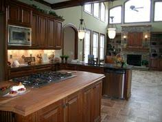 Kitchen Design Cherry Cabinets by Towne Chestnut Oakfrom Mid Continent Cabinetry At Star Lumber