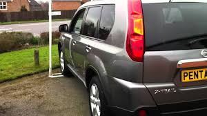 2008 57 plate nissan x trail 2 0 dci aventura 5dr grey youtube