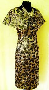 mireia bisbie spanish designer gold green u0026 pink satiny floral