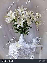 bouquet of lilies still bouquet lilies stock photo 462529822