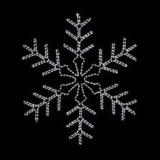 snowflake lights outdoor photo 8 holidays