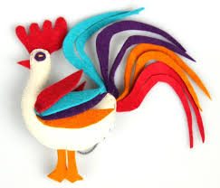 37 best rooster ornaments images on pinterest mexican christmas