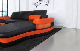 leather corner sofa tampa with usb