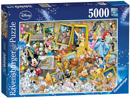puzzle mickey the artist ravensburger 17432 5000 pieces jigsaw