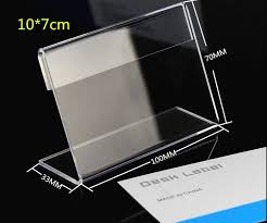 Clear Acrylic Desk Table Sale 50pcs 10 7cm Clear Acrylic Desk Table Tablet Stands Sign