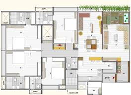 4bhk House 3000 Sq Ft House Plans India 3500 Floor First 280 Luxihome