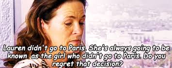 Lauren Conrad Meme - so dramatic lauren will always be known as the girl who didnt go to