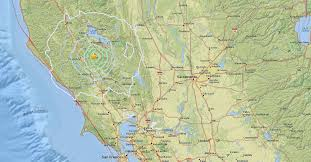 Usgs Real Time Earthquake Map Earthquakes Shake Sonoma County Mammoth Lakes No Damage Reported
