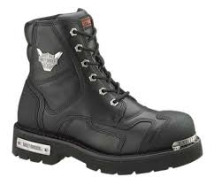 short bike boots harley davidson men u0027s stealth motorcycle boots patch lace black