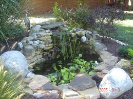 lovely small ponds with waterfalls 28 with additional decoration