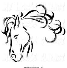 cute unicorn clipart black and white clipartxtras