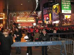 times square new years hotel packages 9pm on new years outside the doubletree picture of