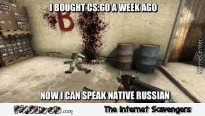 Counter Strike Memes - counter strike taught me russian funny meme pmslweb