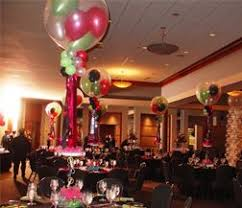 balloons and decor balloon bouquets for tables