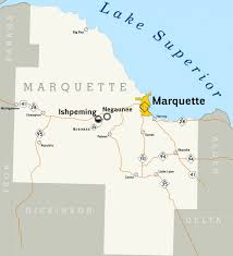 A Map Of Michigan by Why People Love Marquette Michigan Wanderwisdom
