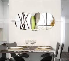Acrylic Bathroom Mirror Aliexpress Com Buy Three Dimensional Crystal Wall Stickers