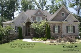 Home Plans Cottage Spring Mill Cottage House Plan House Plans By Garrell Associates