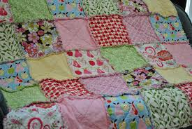 celebrating today how to make a rag quilt