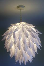 Diy Chandelier L Shades The Most Awesome Images On The Paper Feathers L