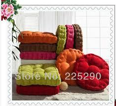 Armchair Cushion Covers Fashion Tatami Thickening Mat Chair Cushion Solid Color Home