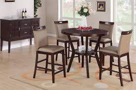 tall round dining table set fabulous tall round kitchen table and chairs also dining room