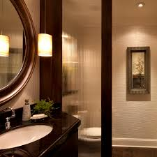 Powder Room Decor All Photos Stylish Transitional Powder Room Robeson Design San Diego
