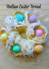 italian easter egg italian easter bread with eggs