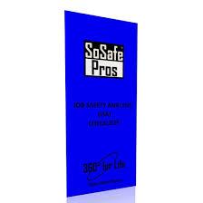 job safety analysis booklet sosafe pros