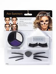 Halloween Animal Makeup Ann Summers Cat Make Up Set Glitter Nose Whiskers Halloween Animal