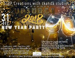 what to buy for new year new year party upsurge 2018 buy tickets