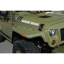rugged ridge 11640 26 hurricane fender flare kit eu smooth