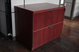 Lateral Office File Cabinets Warren Series 2 Drawer 36 Laminate Lateral File Cabinet In Maple