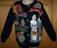 16 awesomely tacky thanksgiving sweaters cool stuff geekery