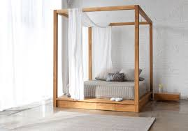 decorating ideas for bed canopy and wood canopy bed also king size