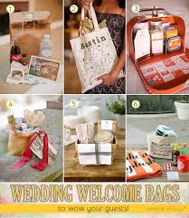 wedding gift bags ideas easy ideas what to put in your oot gift bags to welcome guests