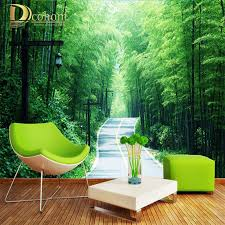 compare prices on bamboo forest wallpaper online shopping buy low