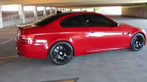Bmw M3 2008 - 2008 custom bmw m3 e92 coupe competition exhaust melbourne red