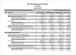monthly management report template 25 free word excel documents